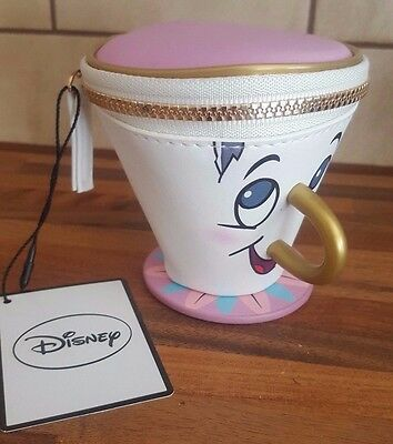 New Girl Primark Disney Chip Potts Beauty And The Beast Cup Mug 3D Coin Purse Uk