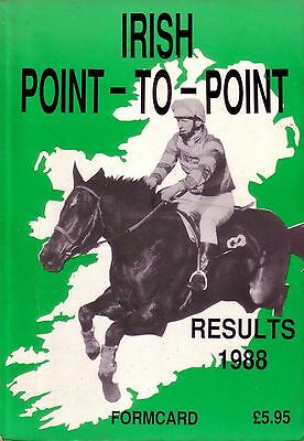 Irish Point To Point Results 1988 (Softback)