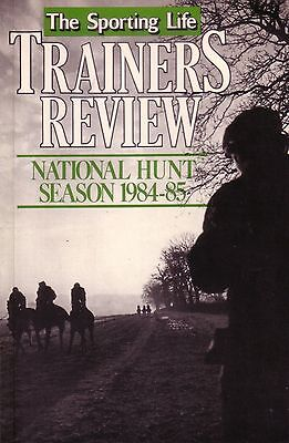 Sporting Life National Hunt Trainers Review 1984/85