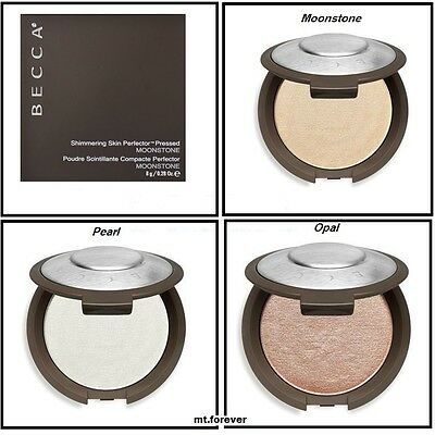 BECCA Shimmering Skin Perfector Pressed Highlighter Powder *Pearl* Opal*