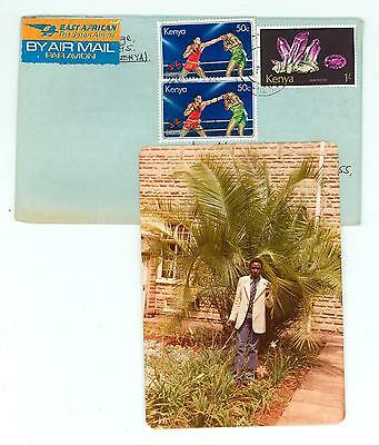 Kenya A44 Cover Photo card 1978 used Air Mail