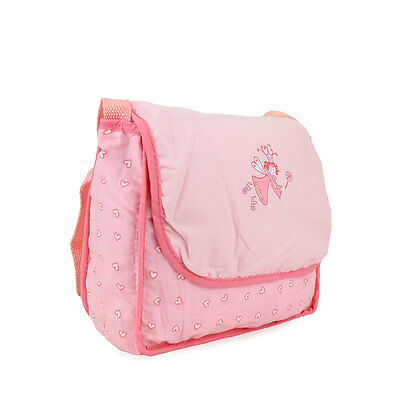 Pink single shoulder Wearfor 43cm Baby Born zapf (only sell clothes)