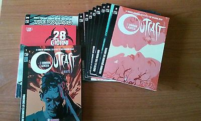 Outcast lotto sequenza 1 / 9 Robert Kirkman + the walking dead