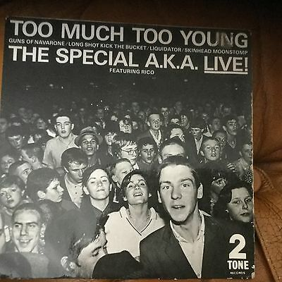 The Specials Too much too young Ep vinyl excellent / skinhead symphony