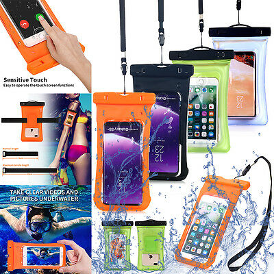 Universal Waterproof Case Pouch Dry Bag for iPhone X 8/7/6s Plus Samsung S9/8/7