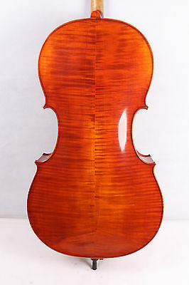 Cello 4/4 Solid wood Hand-made Powerful Sound New master Level Full Size #652