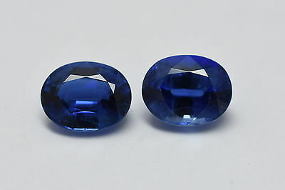 100% NATURAL FACETED KYANITE OVAL PAIR BEST QUALITY KYANITE GEMSTONE SIZE  8x10