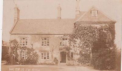 The Manor At Dunstew, Country House, Rp, Oxfordshire, Circa 1920