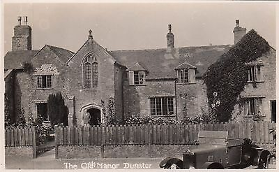The Old Manor At Dunster, Country House, Rp, Somerset, Circa 1920
