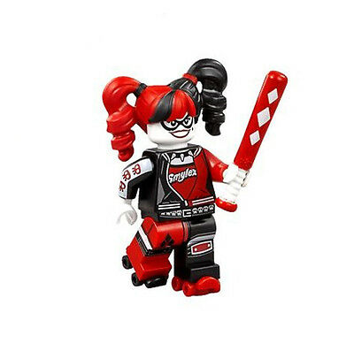 Lego minifigure The Lego Batman Movie Harley Quinn from 70906 - NEW & FREE POST