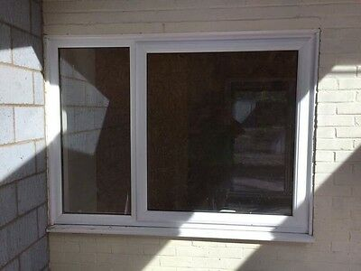 White Frame Double Glazed UPVC Window