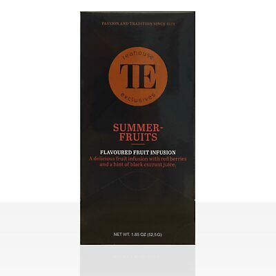 TE - Luxury Teahouse Exclusives Summerfruits 15 Beutel á 3,5g