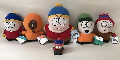 South Park Plush Toy JobLot Cartmen Kenny Kyle Stan Comedy Central + Wind-Up Toy