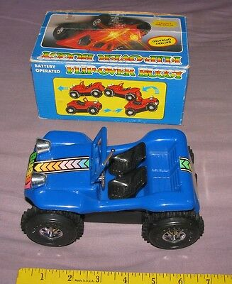 Vintage 1980's FLIP-OVER DUNE BUGGY BATTERY OPERATED TOY GAF W/BOX