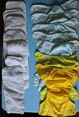 Reusable Nappy Bundle-12 In Total-Good Used Condition