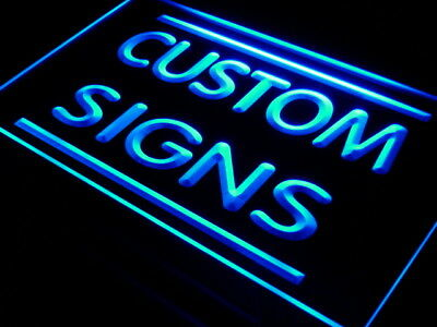 Custom led sign, fully personalized lighted sign with the image/text you want