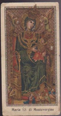 Santino Maria Ss Di Montevergine Primi 900 Holy Card Image Pieuse Andachtsbild