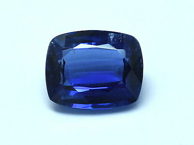 100%  NATURAL FACETED KYANITE CUSHION  BEST QUALITY KYANITE GEMSTONE SIZE  9x11