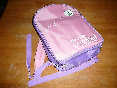 MY FIRST LEAP PAD LEAPPAD BACKPACK CONSOLE GAMES AND BOOKS disney counting 99c