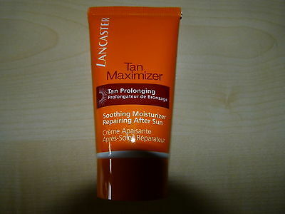 Lancaster After Sun Tan Maximizer 50 Ml Shooting Moisturizer Repairing Neu