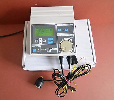 EMS Combination 850 Ultrasound+Interferential Therapy Unit+Ultrasound Probe