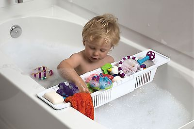 KidCo adjustable baby kid bath toy storage basket NEW