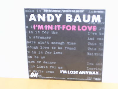 "Single 7"" - Andy Baum - I'm In It For Love"