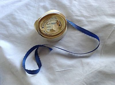 """Antique 1920's  Blue Ribbon French Dolls 3/8"""" wide 60 inches Long"""