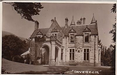 Invereck House, Country House, Nr Dunoon, Argyllshire. Rp, C1920.