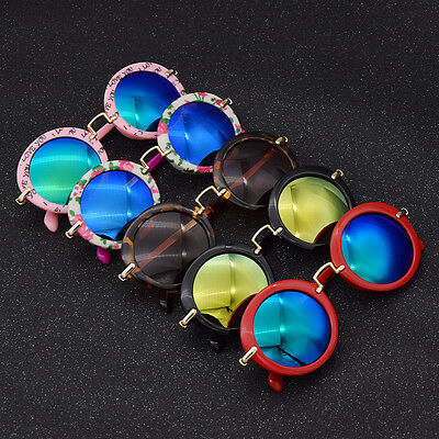 Fashion Kids Baby Boys Girls Children UV Protection Goggles Eyewear Sunglasses