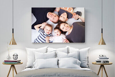 Personalised Canvas Print A4 30X20Cm With Your / My Photo / Picture Ideal Gift