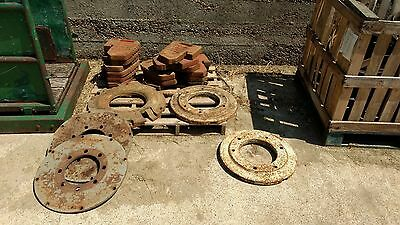 15 Tractor Front Weights and wheel weights near Stevenage