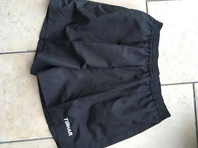 Tibhar Table Tennis Plain Black Shorts