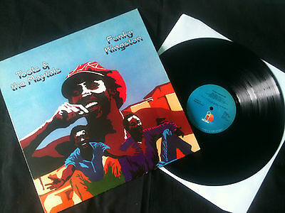 Toots & The Maytals - Funky Kingston LP Netherlands 1980s VG+/VG+  # Reggae