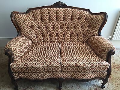 Antique two seater sofa (Late 19th / early 20th century)