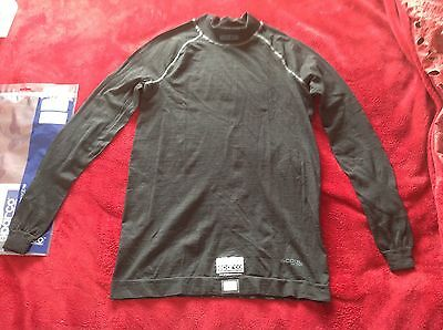 NEW sparco x-cool Silver, nomex Fia 8856-2000 racing Top, Size XL/XXL