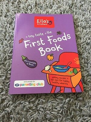 Ella's Kitchen First Foods Book