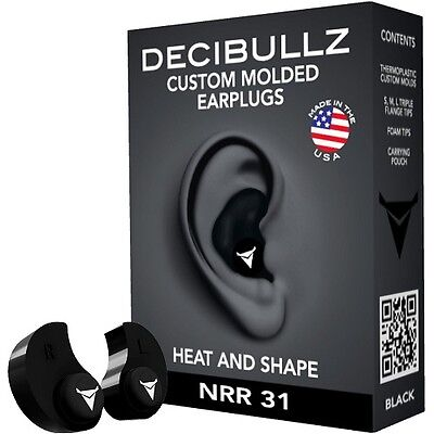 Custom Moulded Noise Cancelling Ear Plugs Work Sport Gift Hobby Home Safety Tool