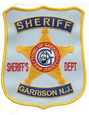 Garrison Sheriff's Department, NJ prop police sheriff patch from Cop Land / Copl