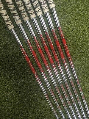 Pulled Nippon N.S. Pro Modus3 Tour 105 X Flex Iron Set Shafts 4-PW gripped
