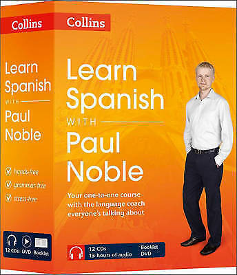Learn Spanish with Paul Noble Complete Course: Spanish made easy Audio CD