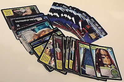 Doctor Who MONSTER INVASION (x49) & MONSTER EXTREME (x5) Trading Cards