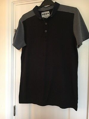Boys Polo Shirt, Navy Age 12-13 Excellent Condition