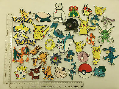 1 New Sew / Iron-On Embroidered Pokemon Character Motif Patch Badge Applique