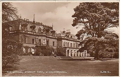 The Museum, Stewart Park, Middlesbrough, Yorkshire. Rp, 1953.