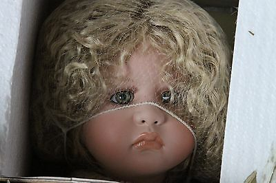 """Doll """"CHARITY"""" angel holding the world by Linda Valentino-Michel #100"""
