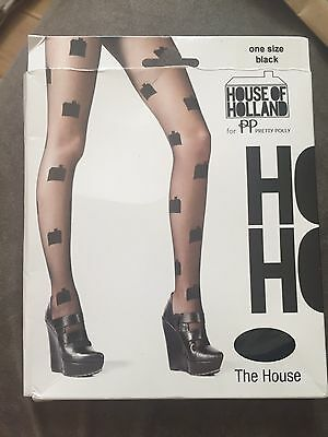 Bnwt New House Of Holland The House Tights One Size