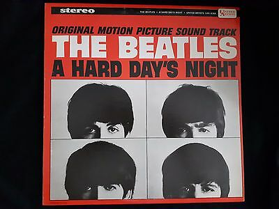 The Beatles- A Hard Days Night Soundtrack- 1st Canadian Stereo NM Vinyl Lp