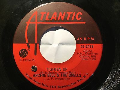"Archie Bell & The Drells - Tighten Up. Mod Northern Soul RnB 45 7"" DJ"