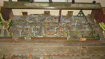 66Fp British Wwii Tank Factory Hand Crafted 1950's All Wood Scratch Built